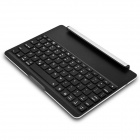 F9 Super Thin Aluminum Alloy Wireless Bluetooth V3.0 78-Key Keyboard for Ipad AIR - Black