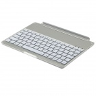 F9 Super Thin Aluminum Alloy Wireless Bluetooth V3.0 78-Key Keyboard for Ipad AIR - Silver