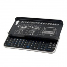 MADE Slide-out Bluetooth V3.0 50-Key Keyboard for Iphone 5 / 5s - Black