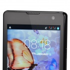 "4.2.2 WCDMA Bar G700 Dual Core Android Phone w / 4.7"" / Wi-Fi / Caméra - Fer Gris + Noir"
