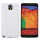 Lichee Pattern Protective ABS Plastic Case for Samsung N9000 / N9002 / N9005 / N9006 - White
