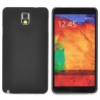 Lichee Pattern Protective ABS Back Case for Samsung Galaxy Note 3 N9000 - Black