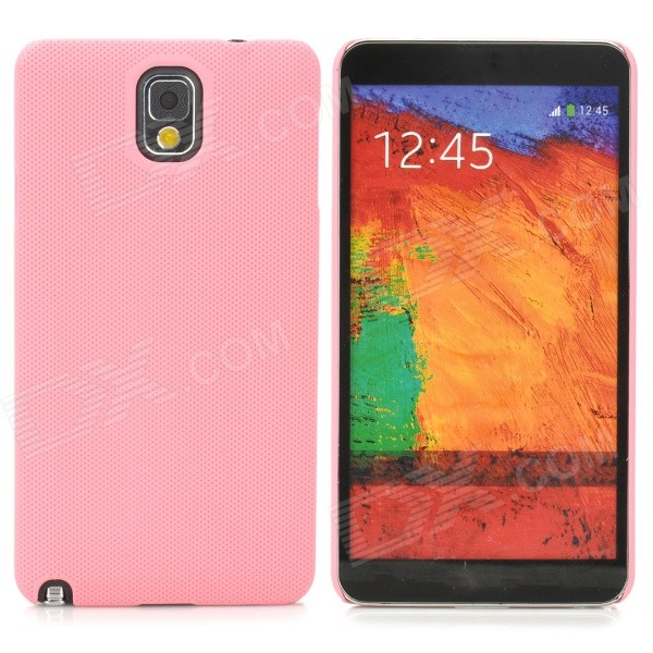 Stylish Protective ABS Back Case for Samsung Galaxy Note 3 N9000 / N9002 / N9005 / N9006 - Pink cute 3d girl style protective silicone back case for samsung galaxy note 3 n9000 green