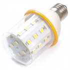 E27 5W 500lm 3500K 28 x SMD 5050 LED Warm White Maize Lamp - White (AC 220~240V)