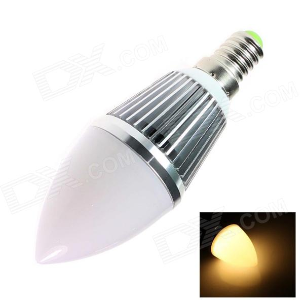E14 4W 280lm 2500K 9 x SMD 5630 LED Warm White Light Candle Bulb - (AC 85~256V) e14 4w 160lm 6500k 16 smd 3528 led white light candle bulb ac 85 256v