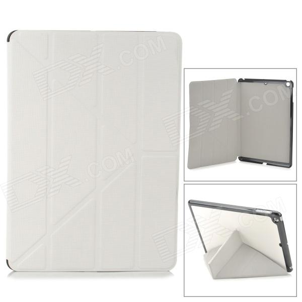 Protective PU Leather + Plastic Case for Ipad AIR - White Fremont Продажа б у по объявлению