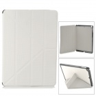Protective PU Leather + Plastic Case for Ipad AIR - White