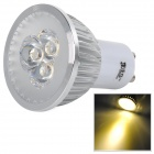 JRLED JR-LED-GU10-3W 3W 230lm 3300K 3-LED Warm White Light Dimmer Spotlight (220V)