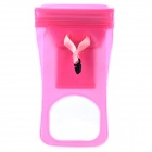 Waterproof Protective PVC Case w/ Strap for iPhone / Samsung 9100 / 9300 - Pink