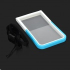"Cooskin SW-203 Universal Waterproof Silicone + PC Case for 5.3"" Cell Phone - White + Blue"