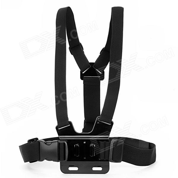 HGYBEST Freedom Comfortable Elastic Chest Belt for Gopro Hero 4/ 3 / 3+ / 2 / Flashlight / SJ4000 free shipping original sj4000 wifi sjcam diving 30m waterproof sport action cam strap harness adjustable elastic chest belt