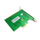 IOCREST IO-PCE958-8S 8-Port DB-9 Serial (RS-232) PCI-E Controller Card - Green