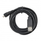 480Mbps Lengthening Micro USB to USB Data Cable for Cellphones + More - Black (300cm)