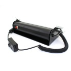 Glyby 8W 380lm 8-LED Blå / Red Light Car Visor Dashboard Emergency Strobe Light (DC 12V)