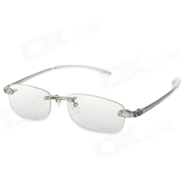 Fashion PC Frame Resin Lens Presbyopic / Reading Glasses - Transparent vision pro magnifying presbyopic glasses eyewear 160