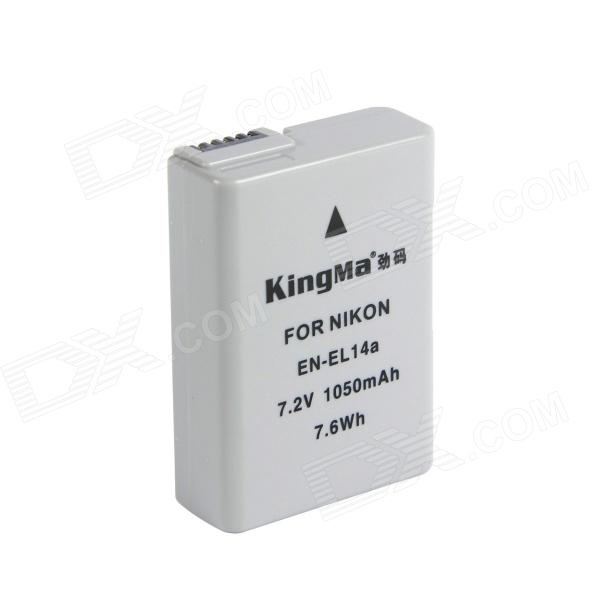 Kingma EN-EL14a Full-Decoded 1050mAh  Battery for Nikon D5300 Df D5100 P7800 D3300-NEW for honey well 5180 5180sr decoded miniature image scan engines