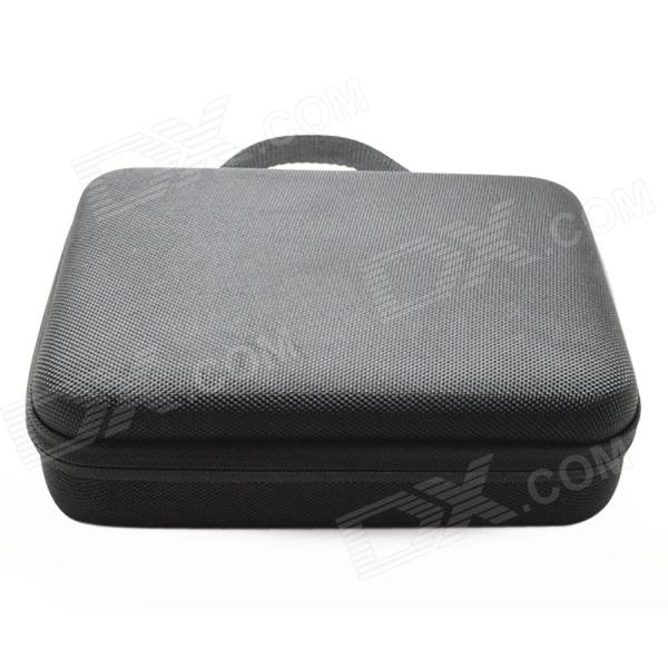 BZ102 Protective EVA Camera Storage Bag for Gopro Hero 4/3+ / Hero3 / Hero2 - Black