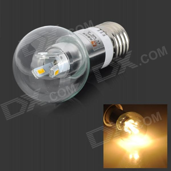 LeXing LX-QP-11 E27 3W 190lm 3500K 6-SMD 5730 LED Warm White Light Bulb (85~265V) lexing lx qp 20 e14 6w 470lm 3500k 15 5730 smd led warm white light dimmable lamp ac 220 240v