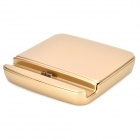 Battery / Cell Phone Charging Dock for Samsung Galaxy Note 3, N9006, N9005, N9002 - Champagne Gold