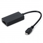 ABS SlimPort to HDMI Adapter for Google Nexus 4 / LG Optimus G Pro + More- Black