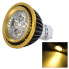 ZHISHUNJIA DB-10YG503A GU10 300lm 3000K Warm White Light LED Spotlight - Black + White (100~240V)