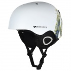 Moon MS-90 Stylish Outdoor Sports PC + EPS Skiing Helmet - White (Size L)
