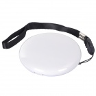 Lucky HZ-868 Ellipse Shaped Portable Hand Warmer - White (2 x AA)