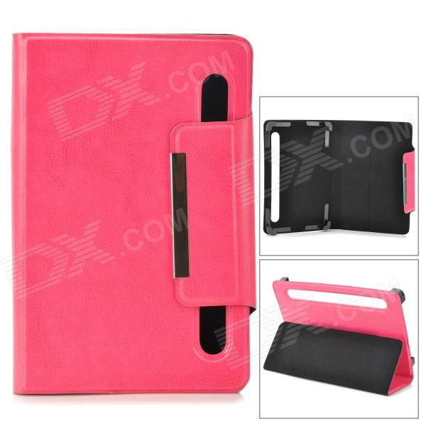 TY-7 Protective PU Leather Case for 7 Tablet PC - Deep Pink protective pu leather case for 9 7 tablet pc deep pink