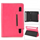 "TY-7 Protective PU Leather Case for 7"" Tablet PC - Deep Pink"