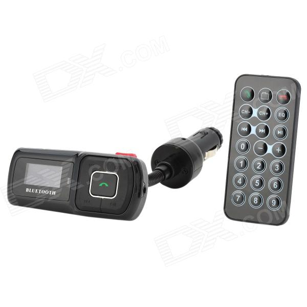 "1.0"" Screen MP3 Player Bluetooth V3.0 Car Kit w/ FM Transmitter / TF"