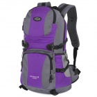 Local Lion 415 Outdoor Mountaineering Nylon Backpack - Green + Purple (32L)