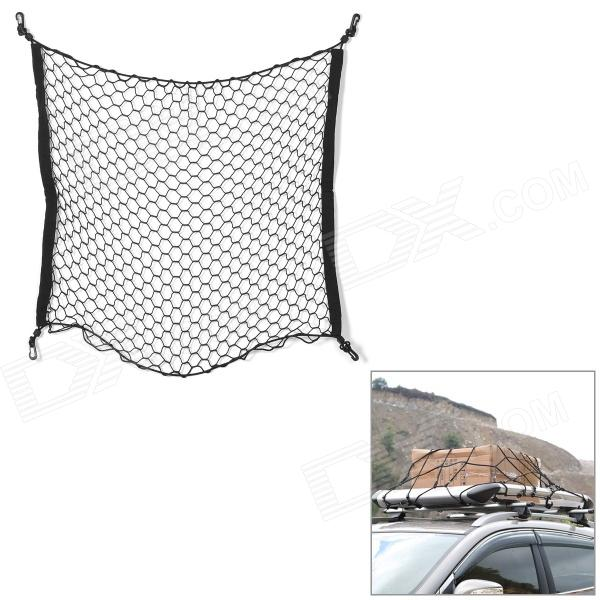 Car Trunk Nylon Luggage Net - Black