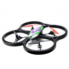 Wltoys V262 2.4GHz 4-CH UFO Bubble Quadcopter R/C Helicopter - Black