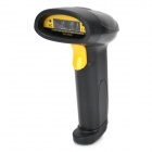 XYL-901 Handheld USB Wired Laser Barcode Scanner - Black + Yellow
