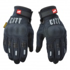 MADBIKE ST07 Motorcycle Bicycle Cycling Gloves for Touch Screen - Black (Size M / Pair)