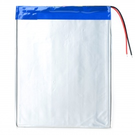 """Replacement 3.7V 7000mAh Li-ion Polymer Battery for 9.7~10.1"""" Tablets - Silver"""