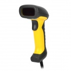 TIPCODE T-580 Handheld USB Wired Laser Barcode Scanner - Black + Yellow