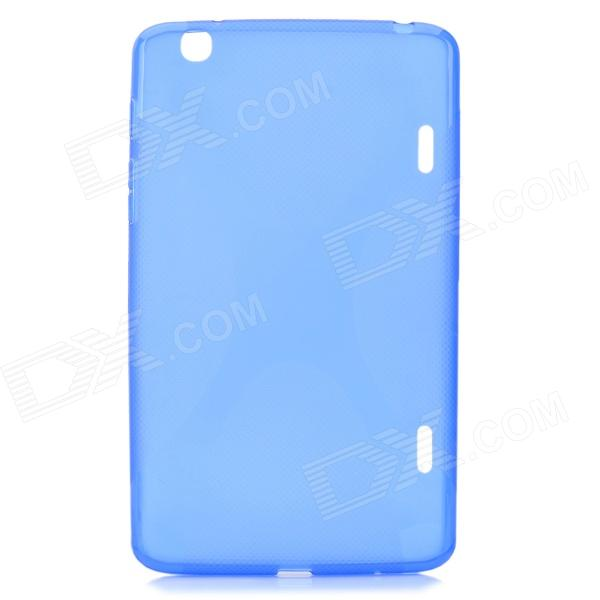 """X"" Style Protective TPU Back Case for LG G Pad 8.3 V500 - Blue"
