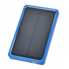 miniisw SW-4000L Portable 0.7W 4000mAh Solar Power Bank - Jewelry Blue