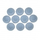 Silicone Anti-skid Covers for PS4 3D Controller - Grey (10PCS)