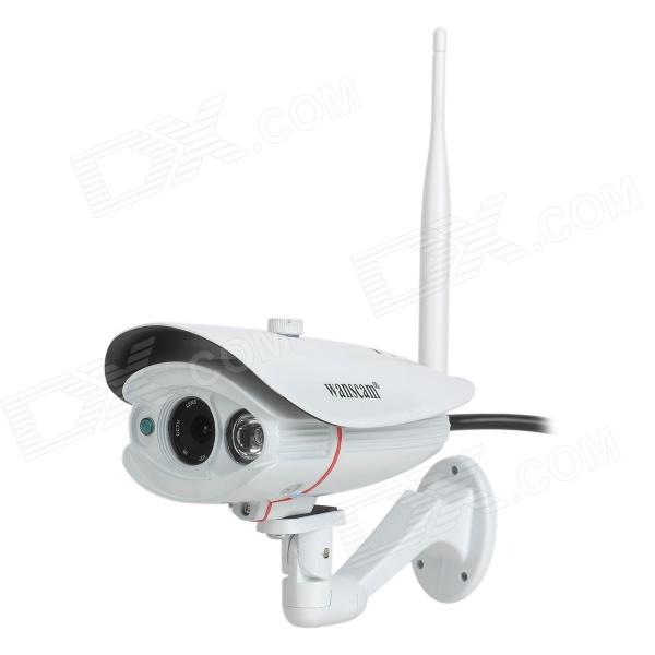 wanscam HW0033 1.0MP CMOS Wireless IP Network Camera w/ 1-IR-LED (100~240V) new original ii0309 warranty for two year