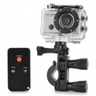 F21 Full HD 1080P Wi-Fi Sports 5.0MP Mini Camera w/ Waterproof Casing / IR Remote Controller (5V)