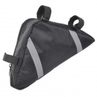Roswheel Outdoor Fashion Top Tube Triangle Bag - Black