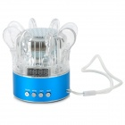YBH-S03 Portable Mini 3.5mm Speaker w/ Mini USB / TF Card / Radio / MicroSD (TF) / Strap