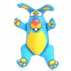 Pet's Dog / Cat Buck Teeth Rabbit Toy - Blue + Yellow