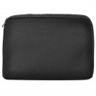 "Protective Mesh Fabric Inner Bag for 15.6"" Notebook Laptop - Black"