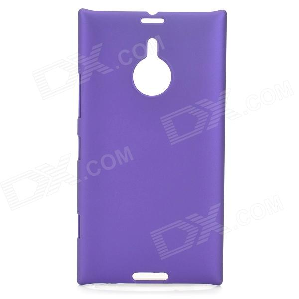 Protective Frosted Plastic Back Case for Nokia Lumia 1520 - Purple protective matte frosted screen protector film guard for nokia lumia 900 transparent
