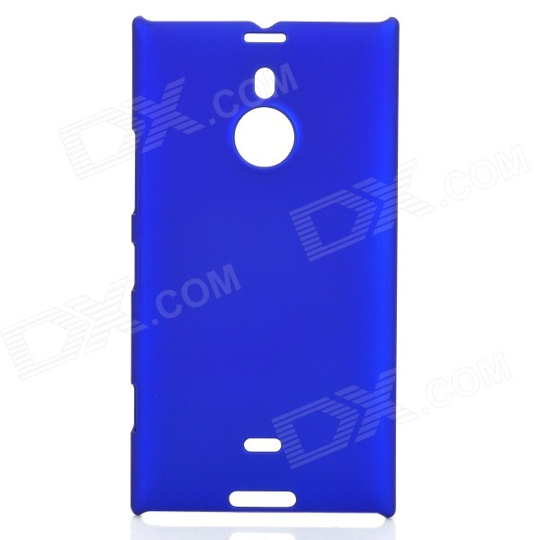 Protective Frosted Plastic Back Case for Nokia Lumia 1520 - Dark Blue nillkin protective plastic back case w screen protector for nokia lumia 630 golden
