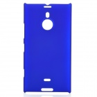 Protective Frosted Plastic Back Case for Nokia Lumia 1520 - Dark Blue