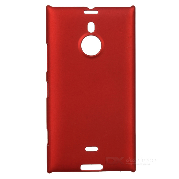 Protective Frosted Plastic Back Case for Nokia Lumia 1520 - Red protective matte frosted screen protector film guard for nokia lumia 900 transparent